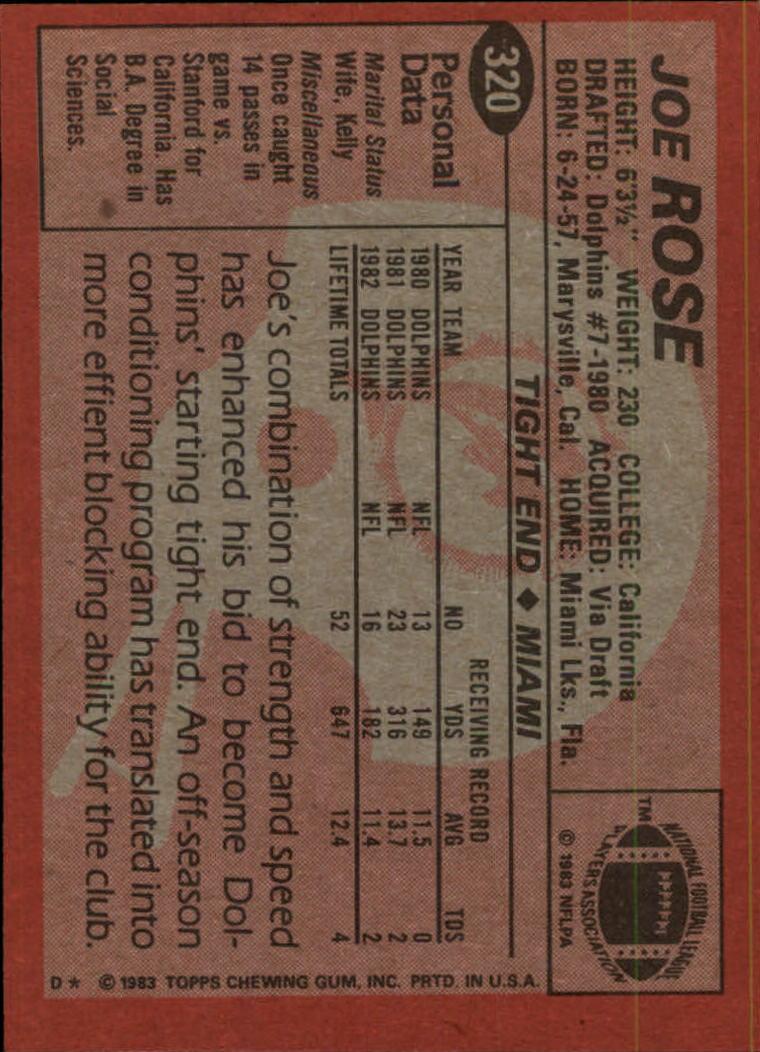 1983-Topps-Football-Card-Pick-147-396 thumbnail 227