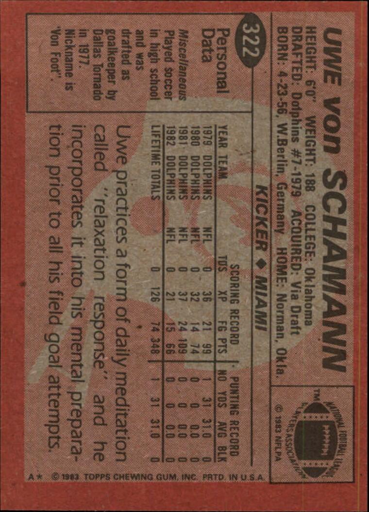 1983-Topps-Football-Card-Pick-147-396 thumbnail 231