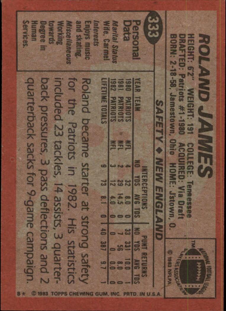 1983-Topps-Football-Card-Pick-147-396 thumbnail 243