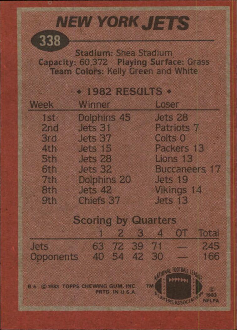 1983-Topps-Football-Card-Pick-147-396 thumbnail 249