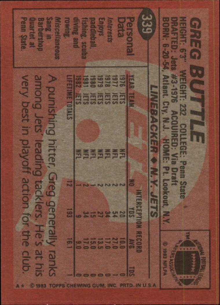 1983-Topps-Football-Card-Pick-147-396 thumbnail 251
