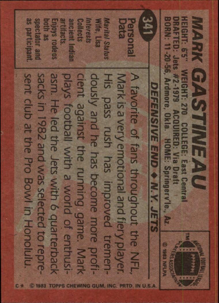 1983-Topps-Football-Card-Pick-147-396 thumbnail 255
