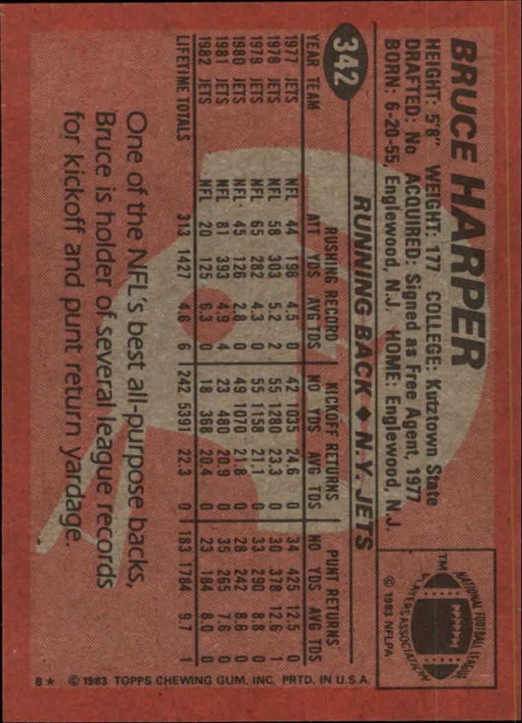 1983-Topps-Football-Card-Pick-147-396 thumbnail 257