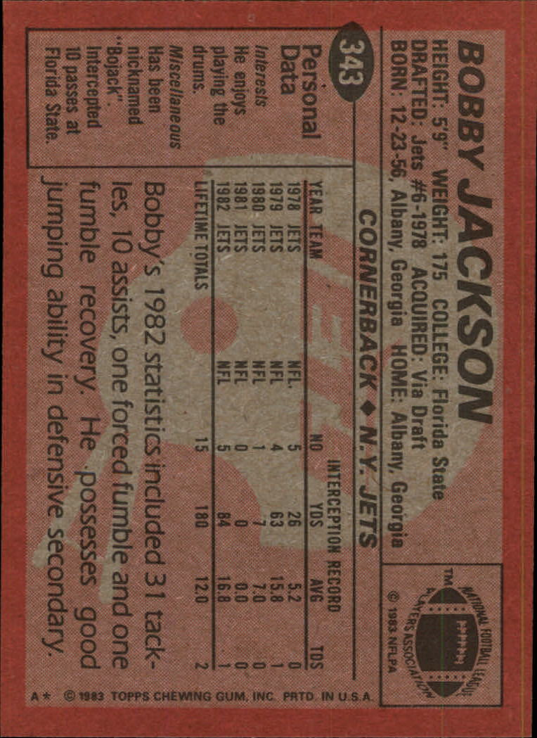 1983-Topps-Football-Card-Pick-147-396 thumbnail 259