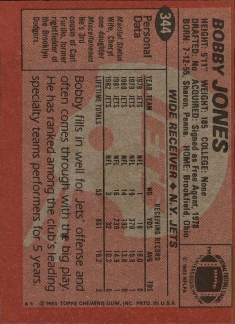 1983-Topps-Football-Card-Pick-147-396 thumbnail 261
