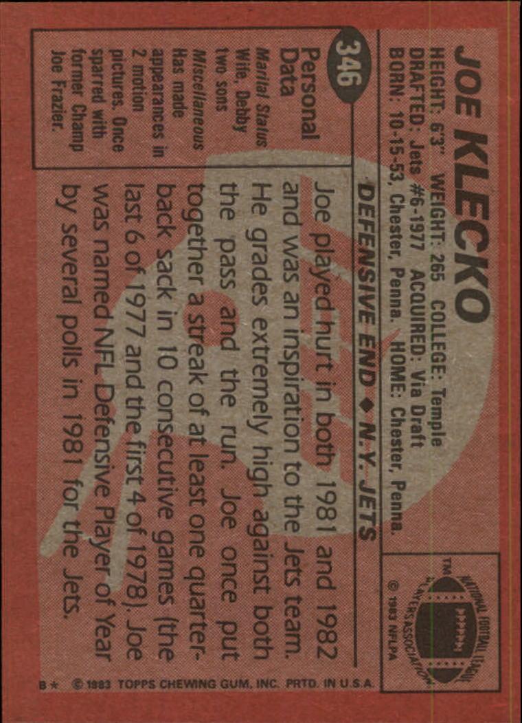 1983-Topps-Football-Card-Pick-147-396 thumbnail 263