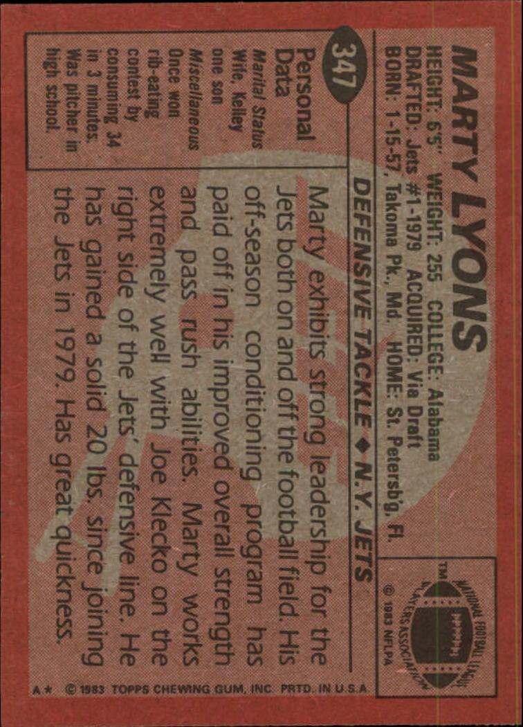1983-Topps-Football-Card-Pick-147-396 thumbnail 265