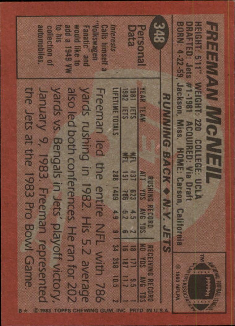1983-Topps-Football-Card-Pick-147-396 thumbnail 267