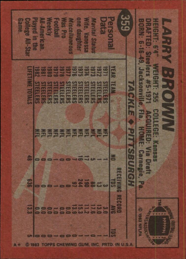 1983-Topps-Football-Card-Pick-147-396 thumbnail 283