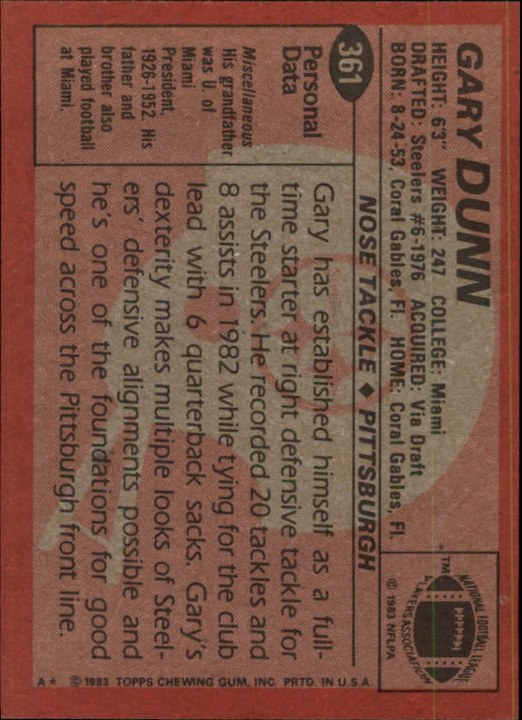 1983-Topps-Football-Card-Pick-147-396 thumbnail 285