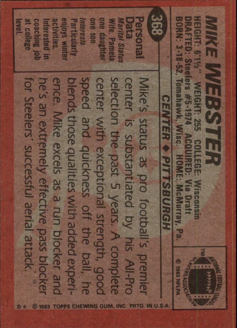 1983-Topps-Football-Card-Pick-147-396 thumbnail 293