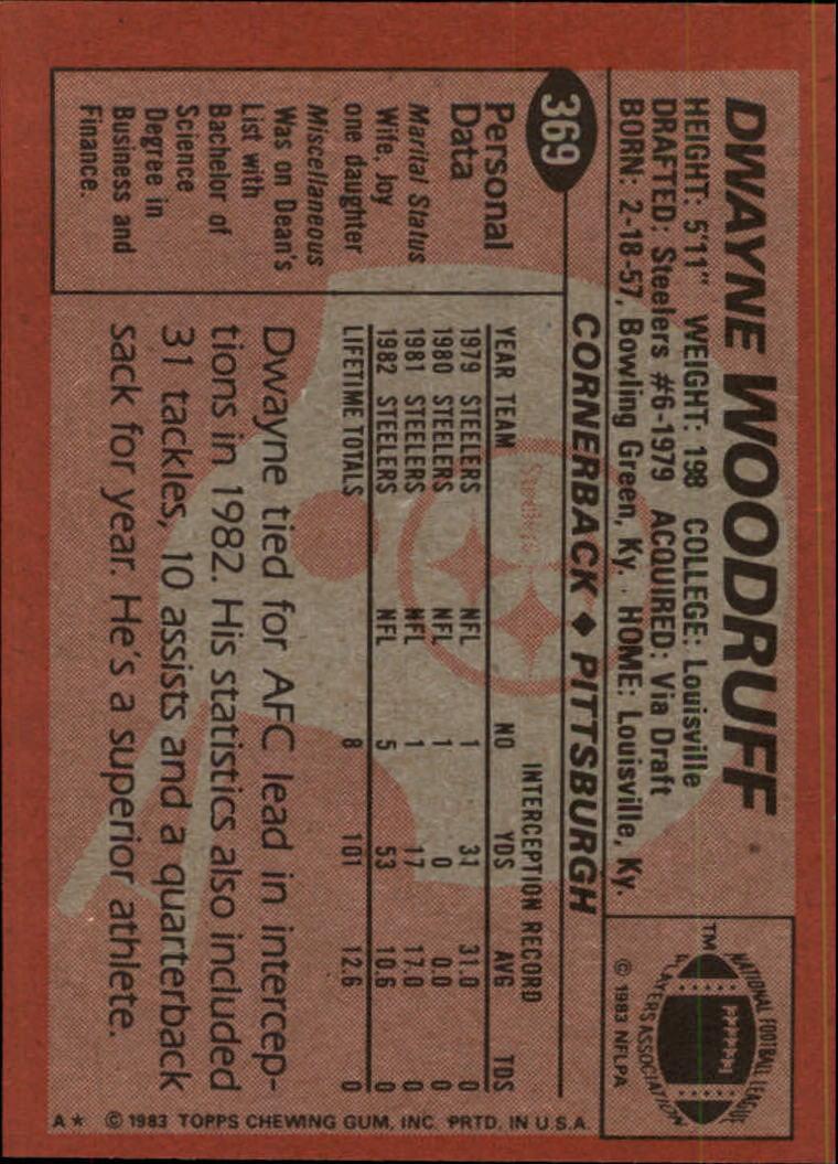 1983-Topps-Football-Card-Pick-147-396 thumbnail 295