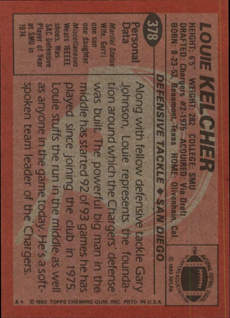 1983-Topps-Football-Card-Pick-147-396 thumbnail 309