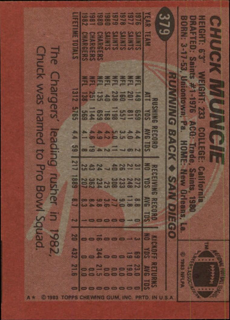 1983-Topps-Football-Card-Pick-147-396 thumbnail 311