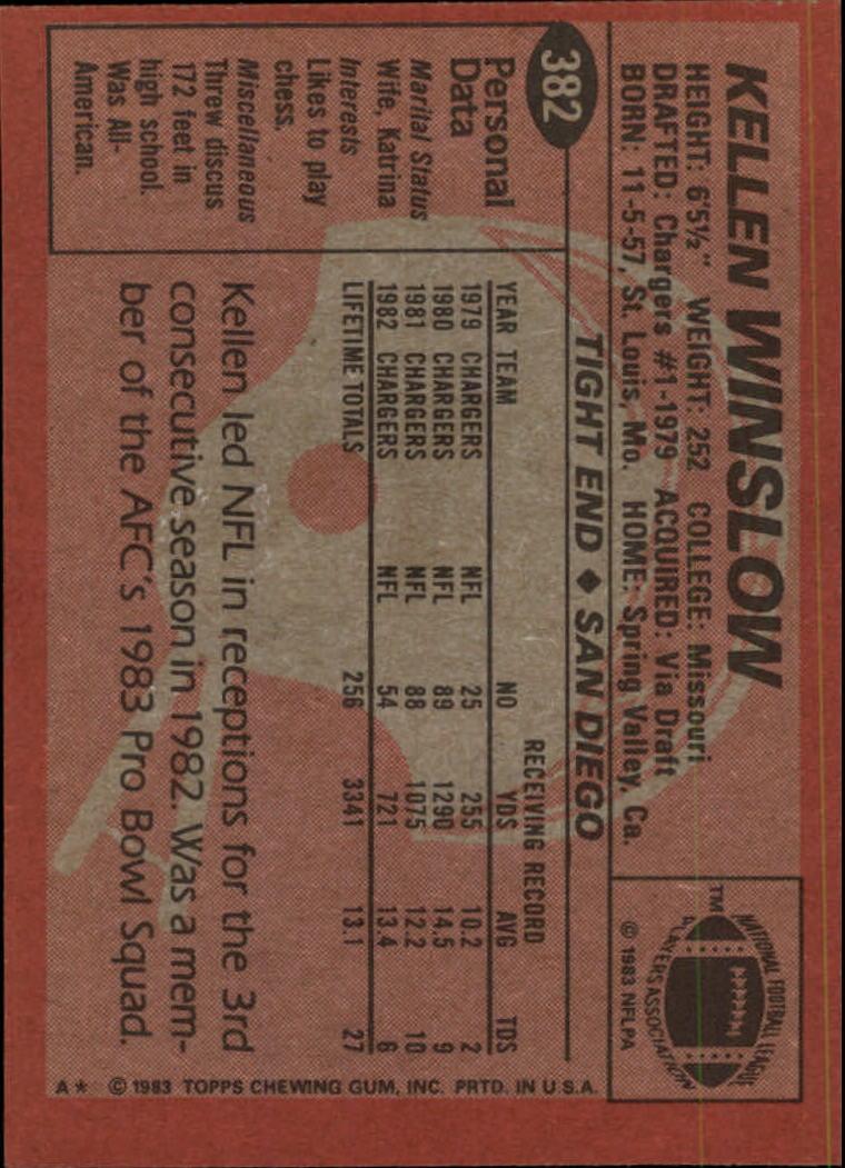 1983-Topps-Football-Card-Pick-147-396 thumbnail 315