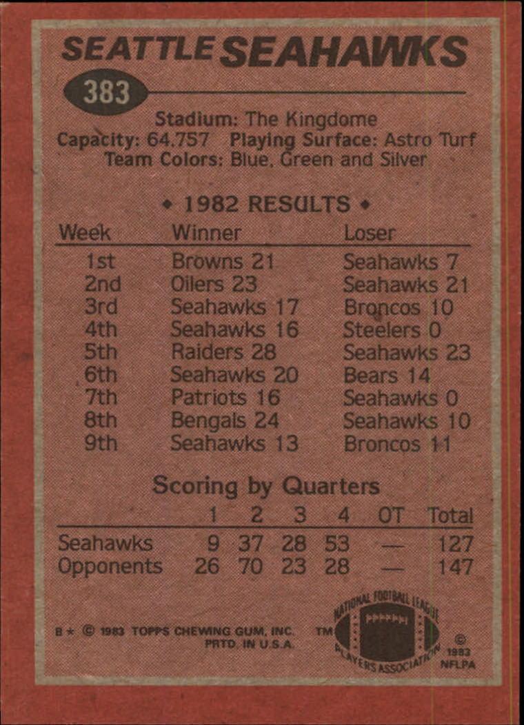 1983-Topps-Football-Card-Pick-147-396 thumbnail 317
