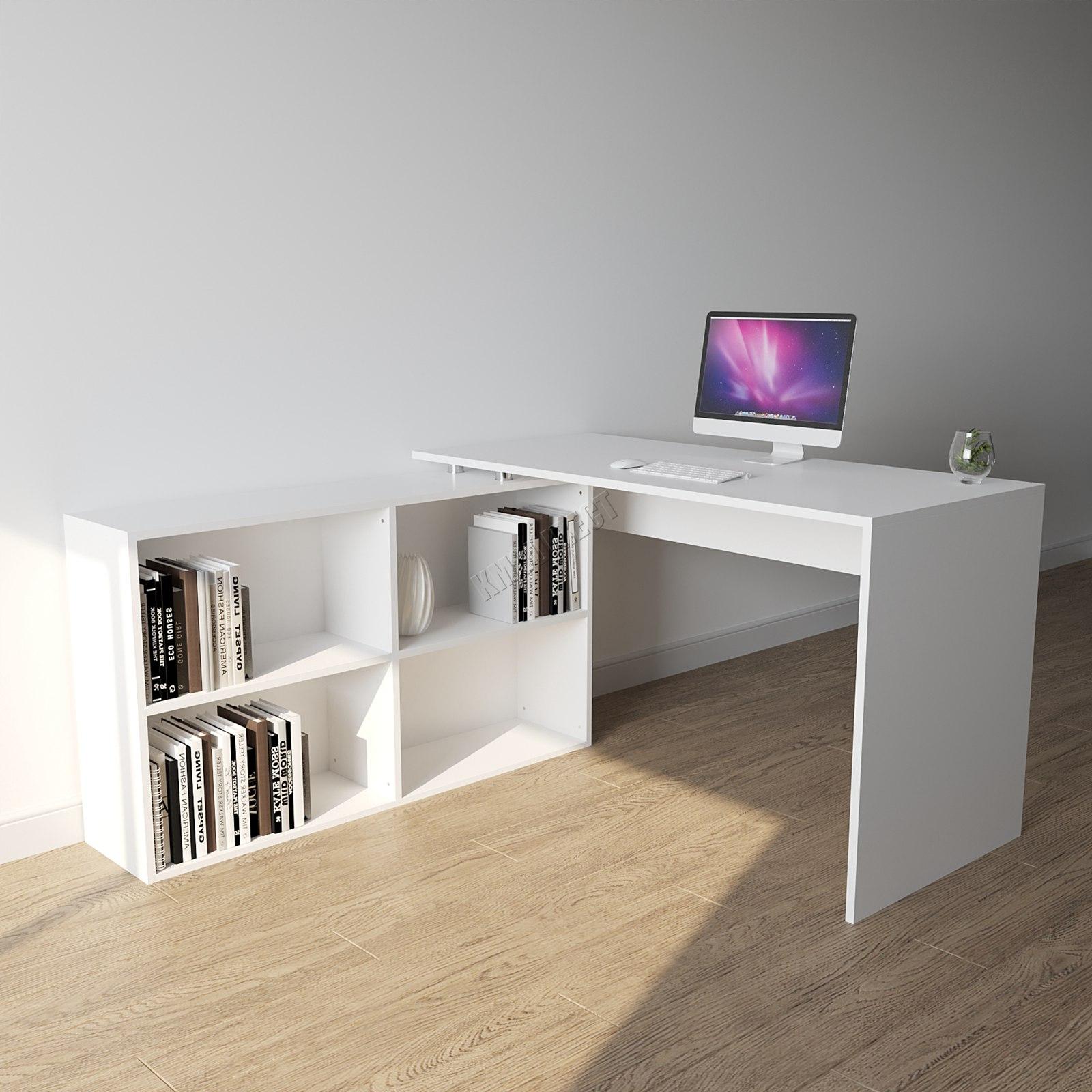 Foxhunter forma l esquina computador escritorio pc mesa for Escritorios de hogar