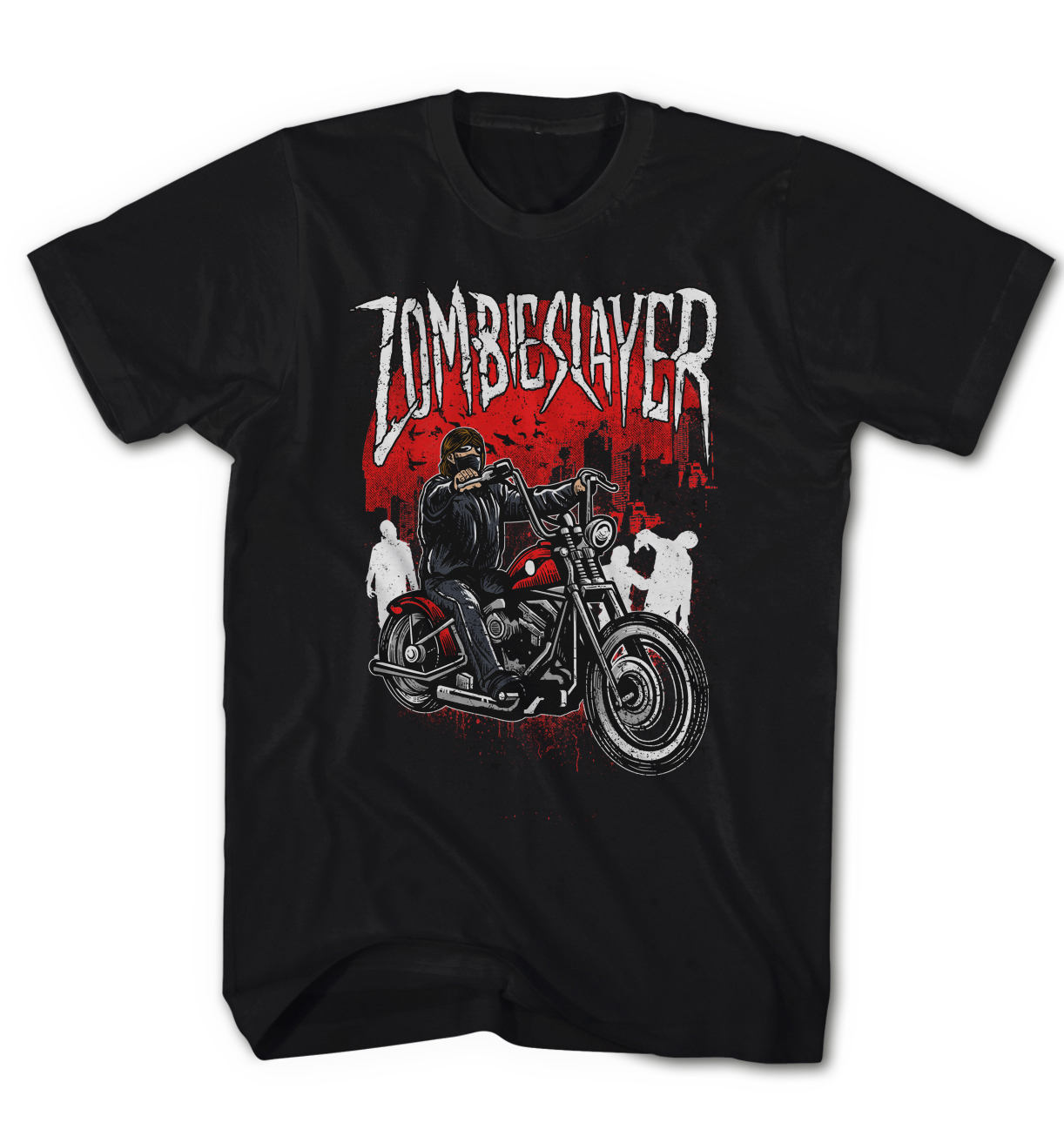 Camiseta-Hombre-Zombie-Walking-Slayer-Daryl-Redneck-Dixon-NUEVO-s-5xl-zs1116