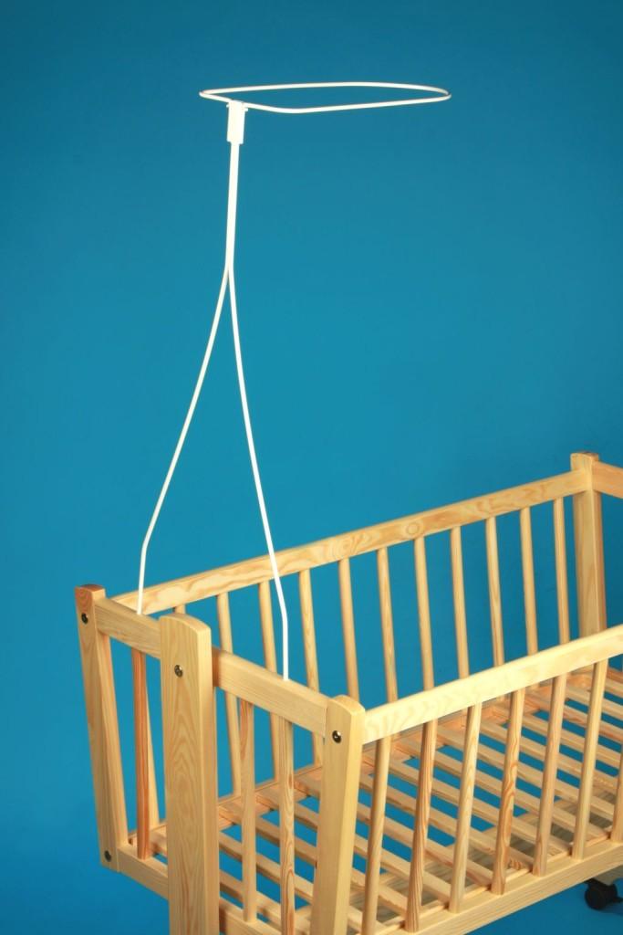 universel baldaquin drap support barre p le barre pour lit de b b lit berceau ebay. Black Bedroom Furniture Sets. Home Design Ideas