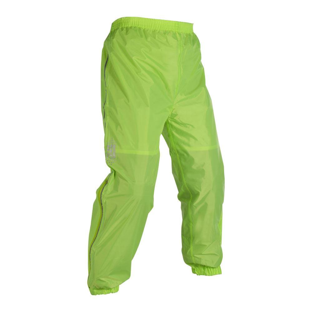 Oxford-Moto-RAINSEAL-Surpantalon-NOIR-JAUNE-FLUO-NEUF