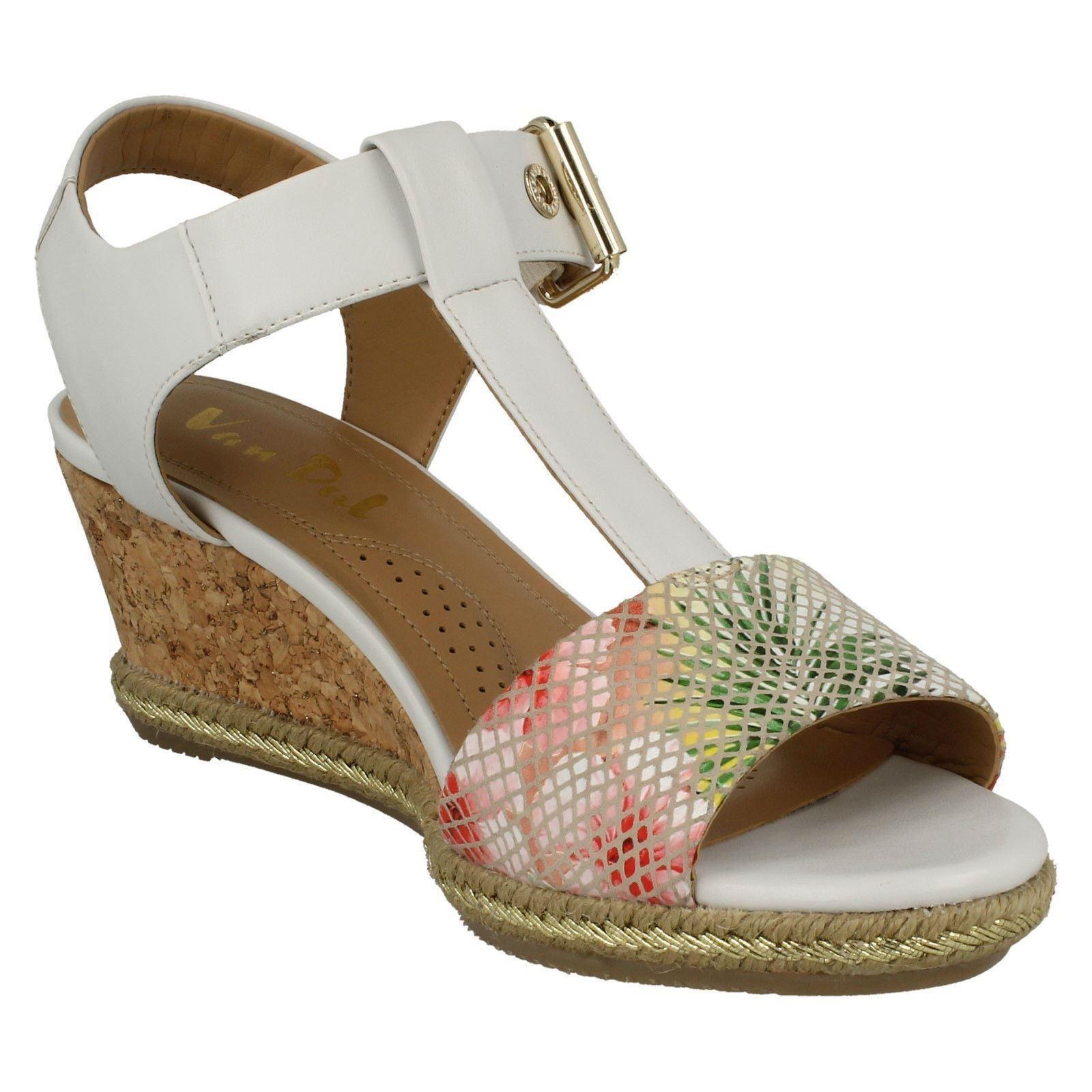 Ladies-Van-Dal-Wedged-Heel-Sandals-Jordan thumbnail 13