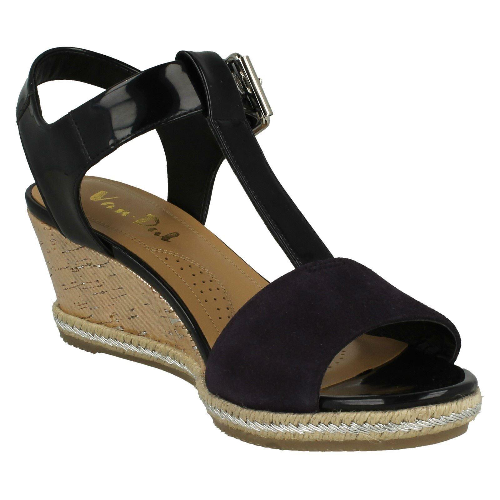 Ladies-Van-Dal-Wedged-Heel-Sandals-Jordan thumbnail 8