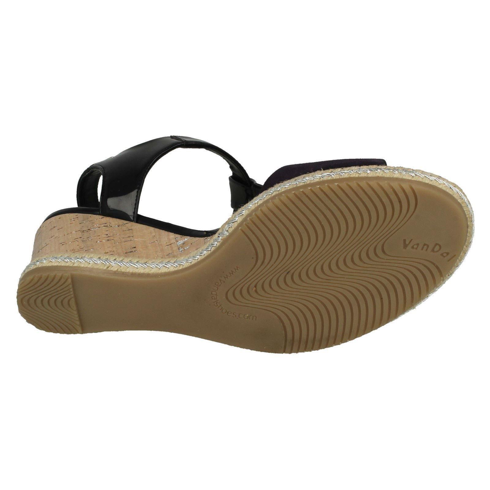 Ladies-Van-Dal-Wedged-Heel-Sandals-Jordan thumbnail 4