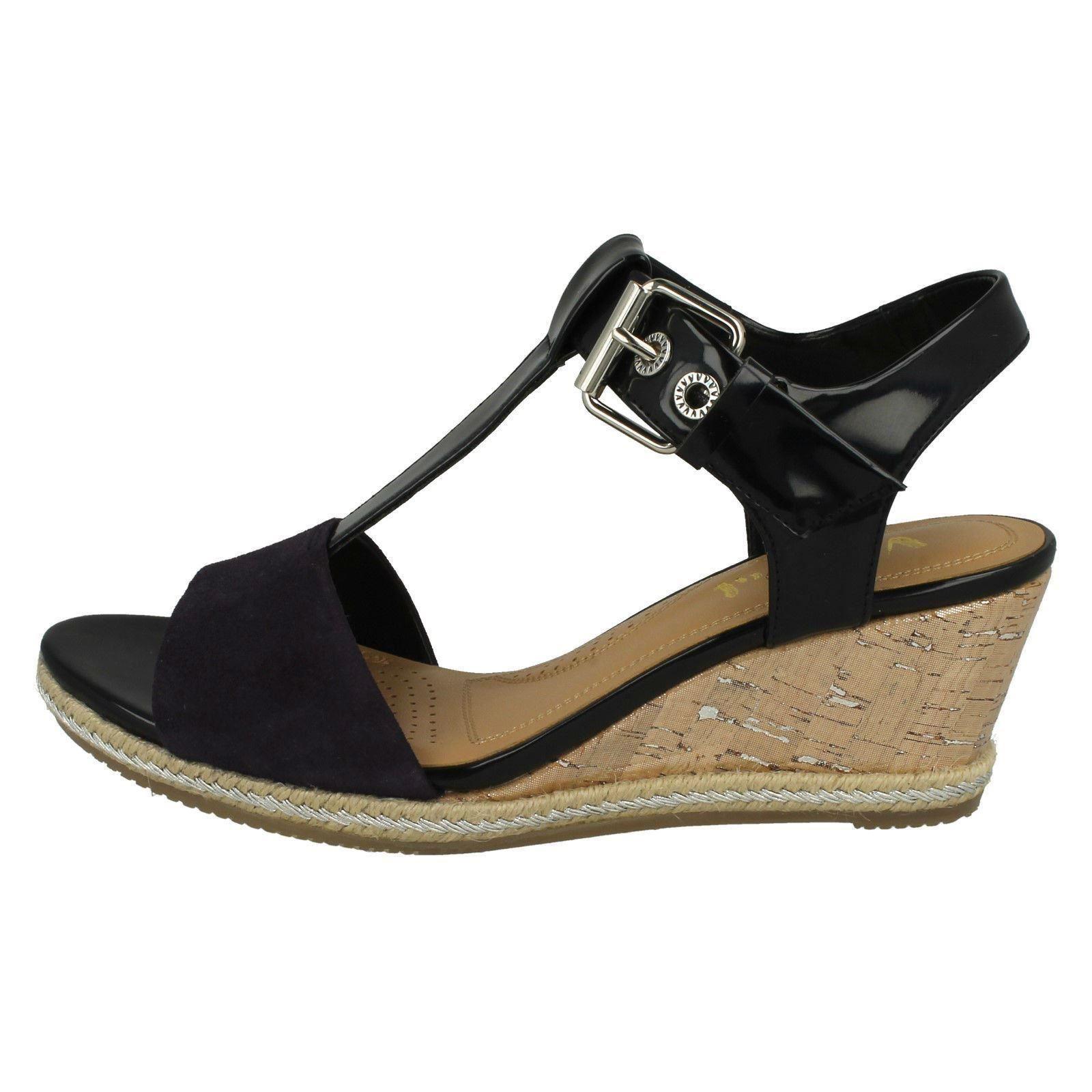 Ladies-Van-Dal-Wedged-Heel-Sandals-Jordan thumbnail 6