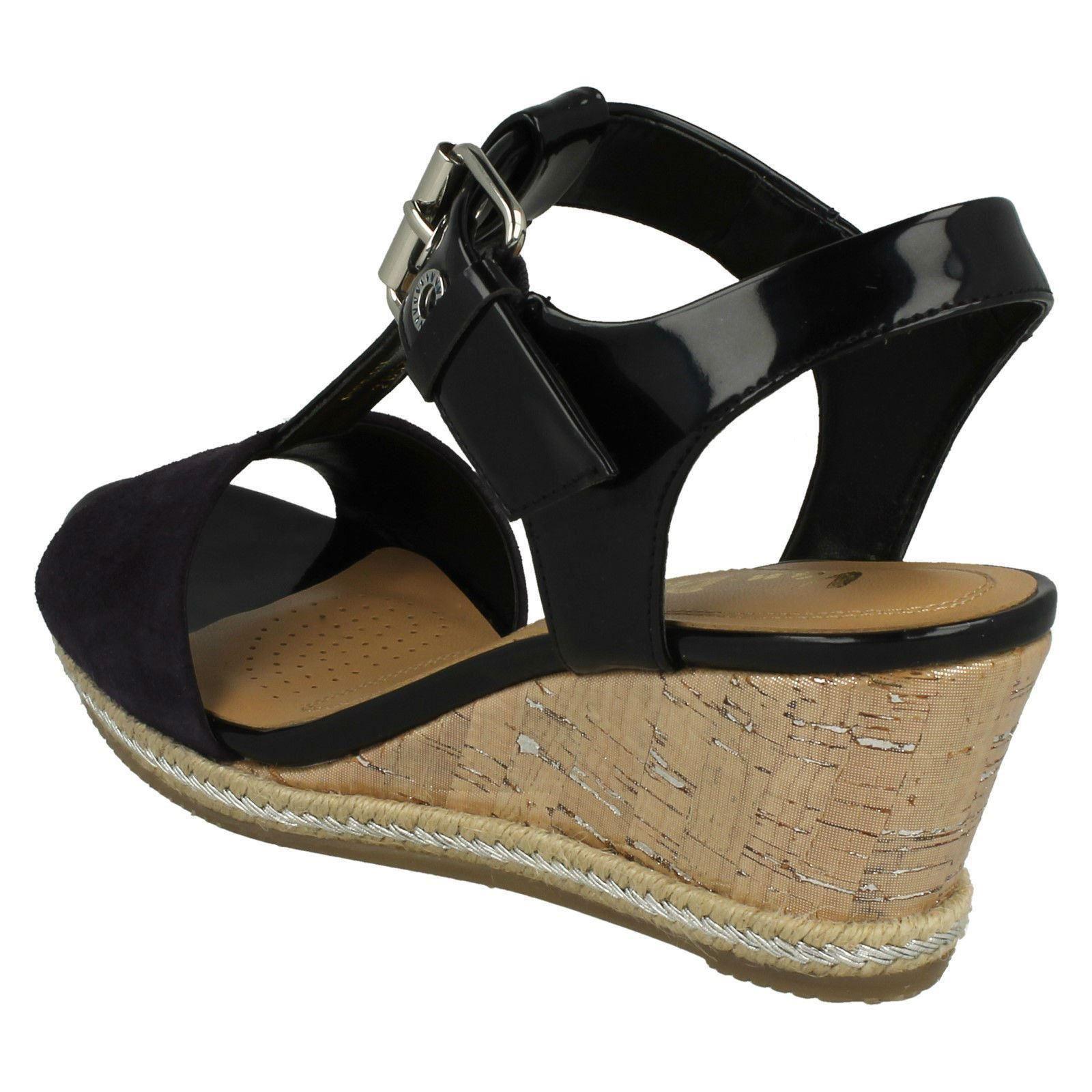 Ladies-Van-Dal-Wedged-Heel-Sandals-Jordan thumbnail 3