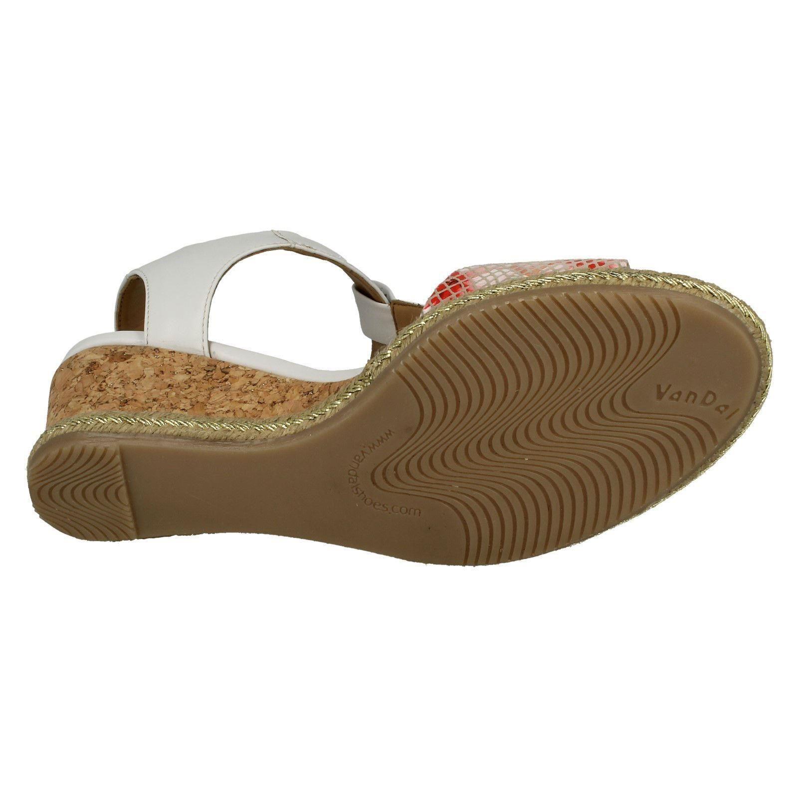 Ladies-Van-Dal-Wedged-Heel-Sandals-Jordan thumbnail 16