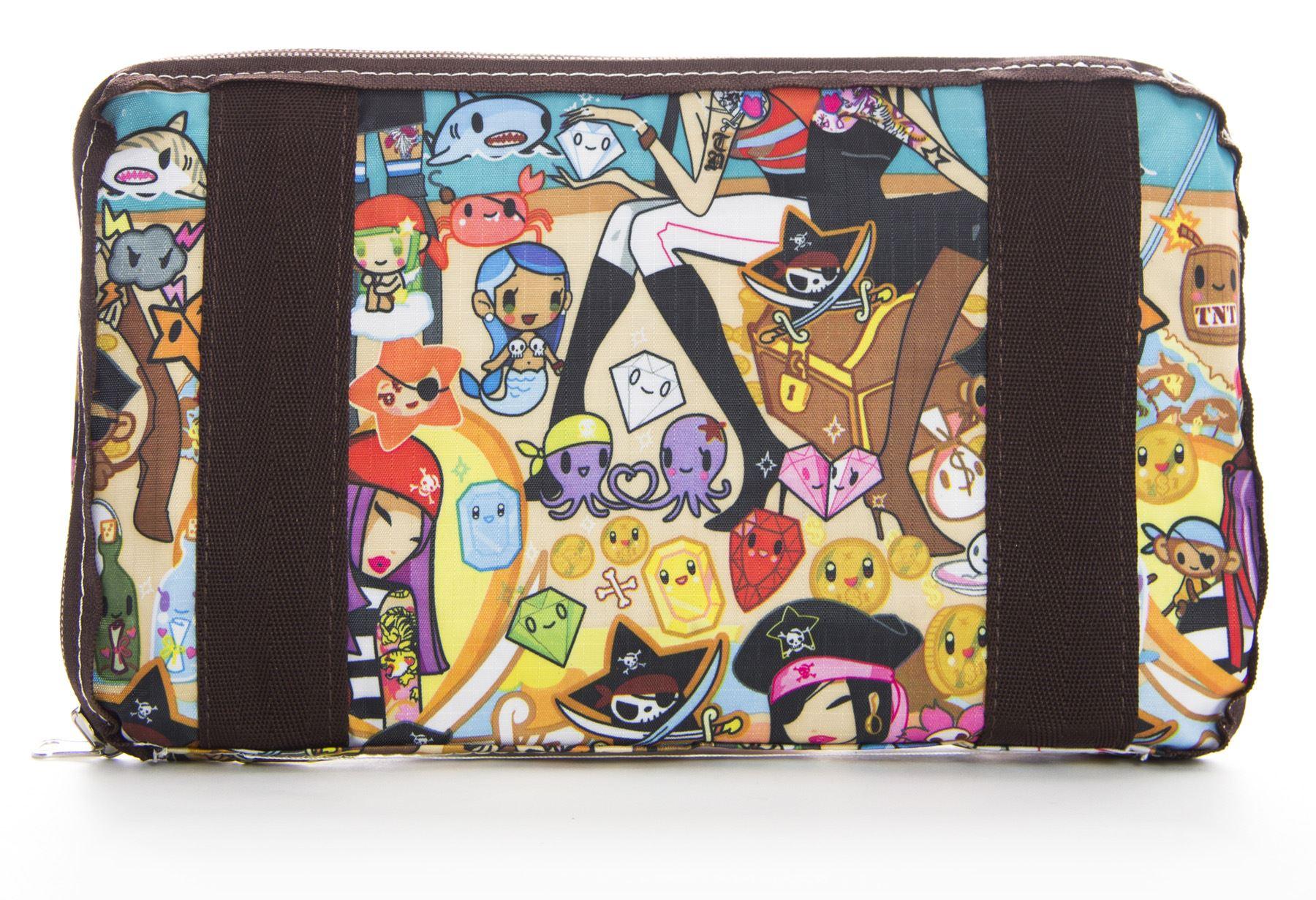 Big Handbag Shop UNISEX Taschen mit Reißverschluss Cartoon leicht groß
