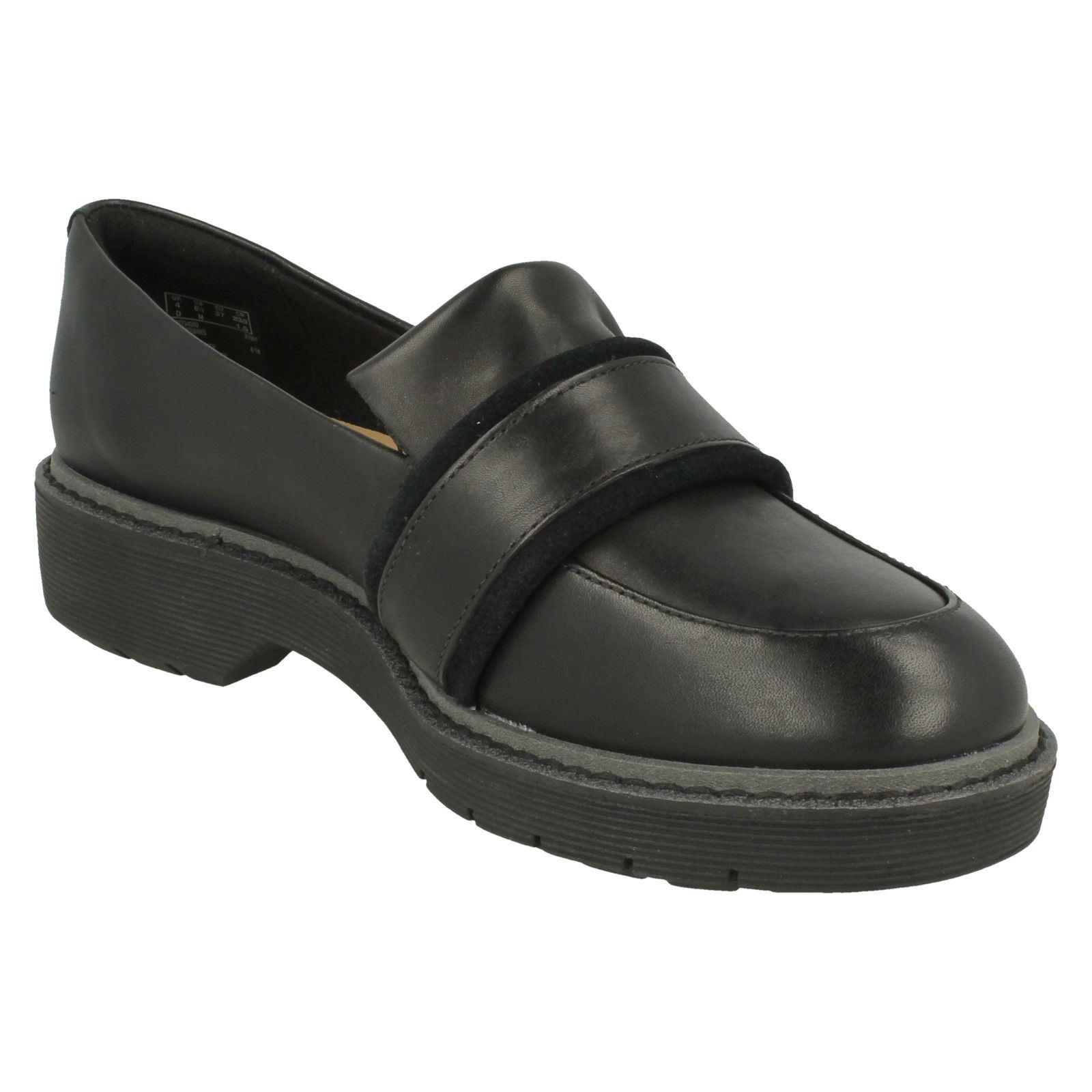 Damen Clarks Flache Mokassins Rubin Inspiriert Schuhe Alexa Rubin Mokassins 58569a