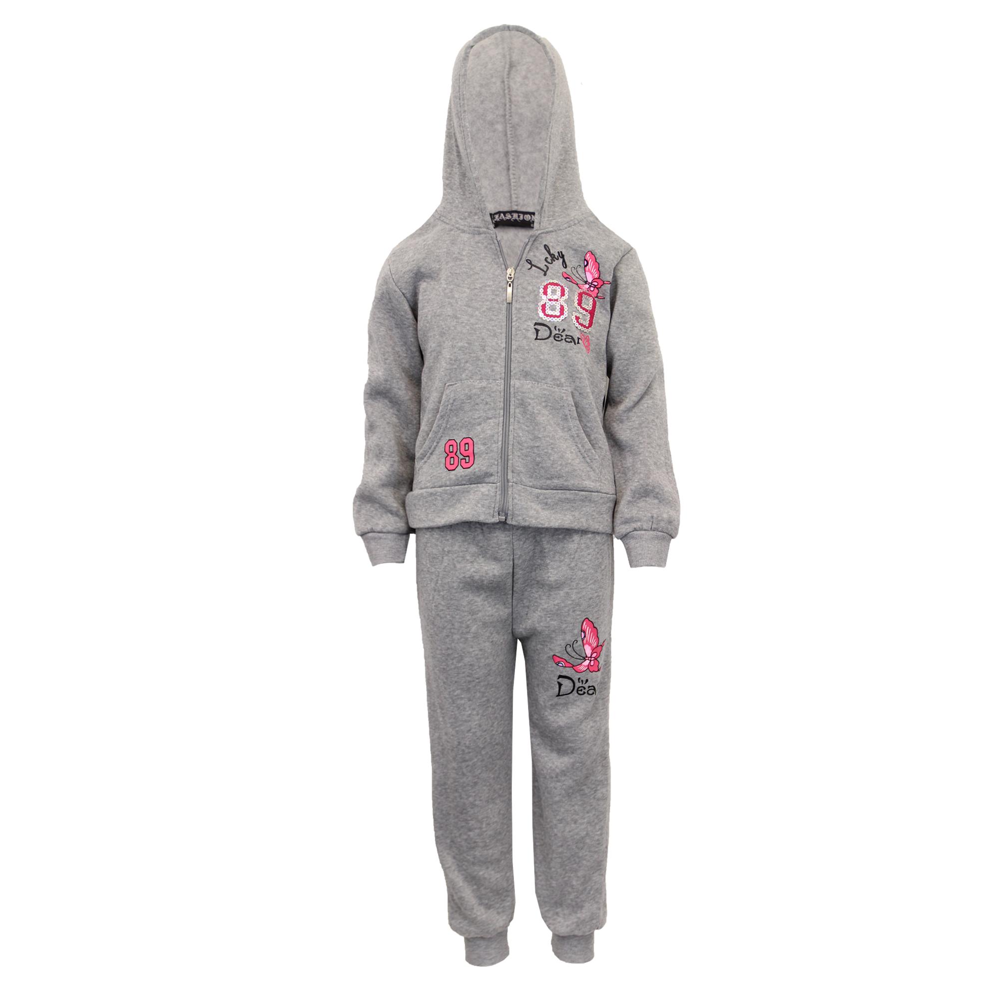 Garçons Filles Enfants 1 Onsie Pyjama Tout en Un Capuche Fermeture Éclair Combinaison Âges 1-14 Ans
