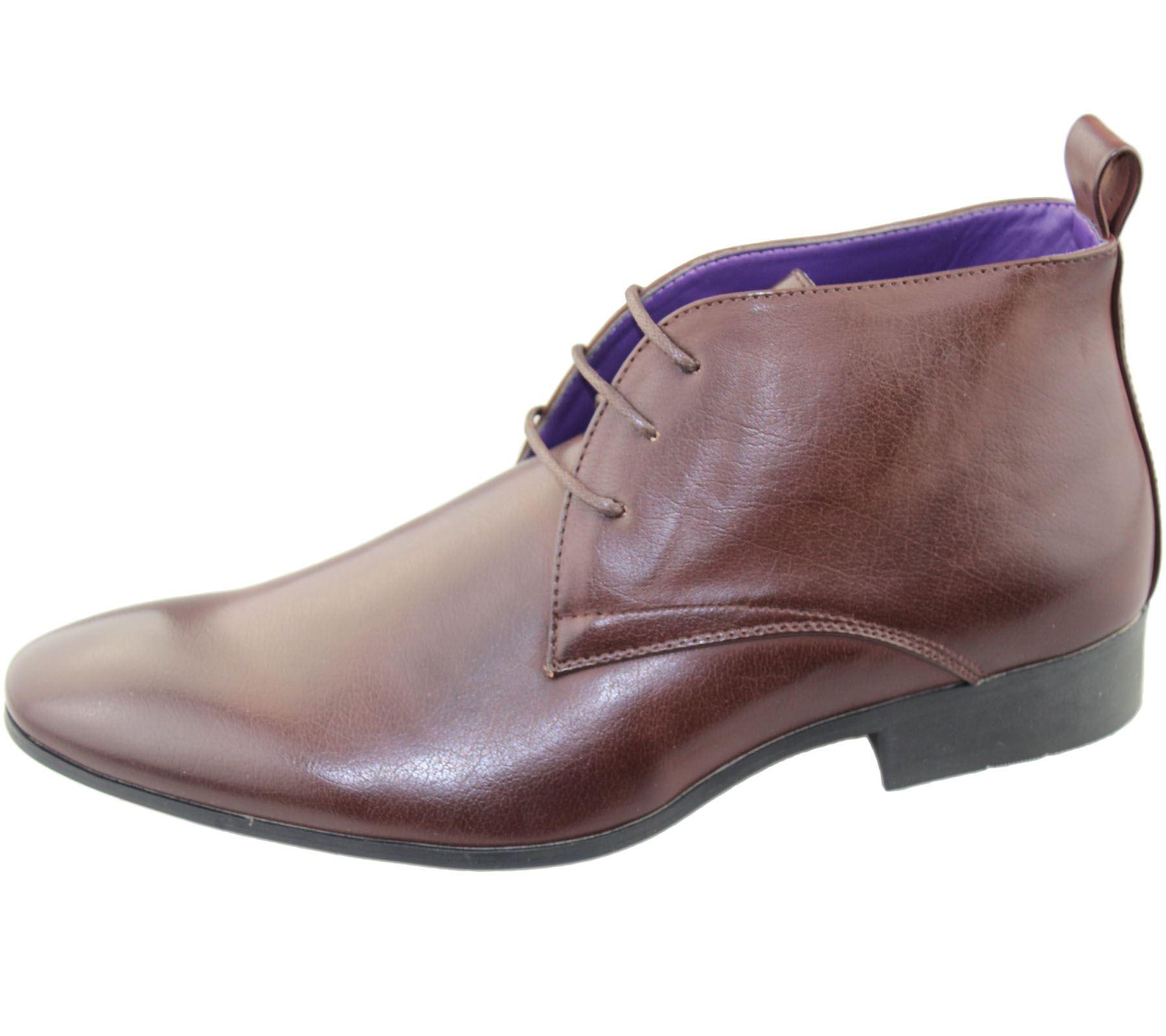 Herren Office Schuhe hoch TOP Hochzeit Freizeit Formell Smart Kleid Neu Größe