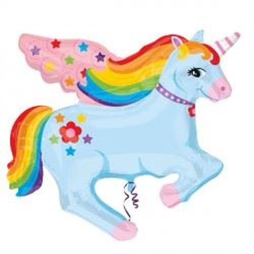 unicornio-Fantasia-Vajilla-suministros-cumpleanos-Decoracion-Fiesta-Nina-Magico