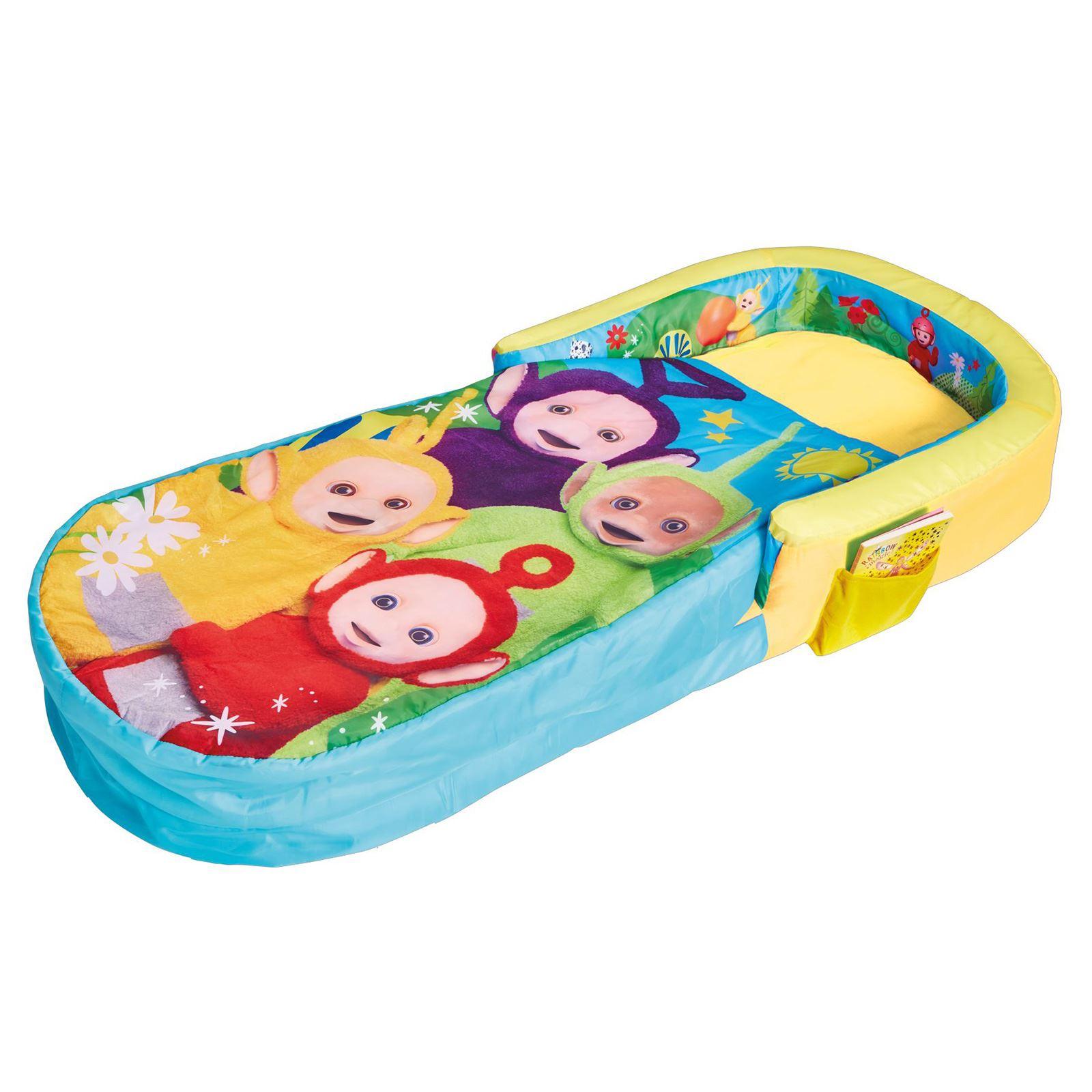 Bambini-Pronto-Letto-Gonfiabile-Aria-Campeggio-Pigiama-Party-Personaggio-Disney