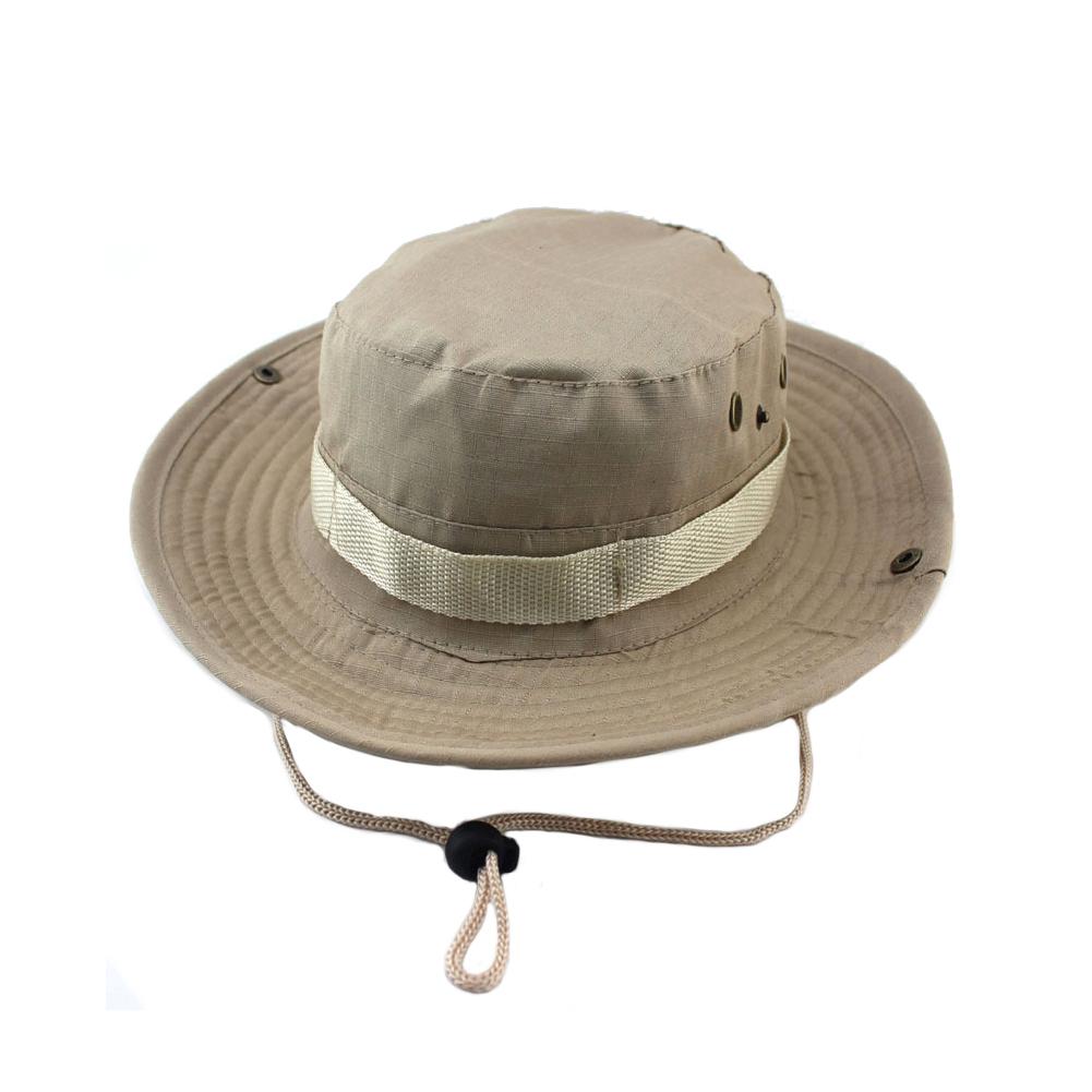 uomo-Militare-Cappello-da-Pescatore-Boonie-Caccia-Pesca-arrampicata-outdoor