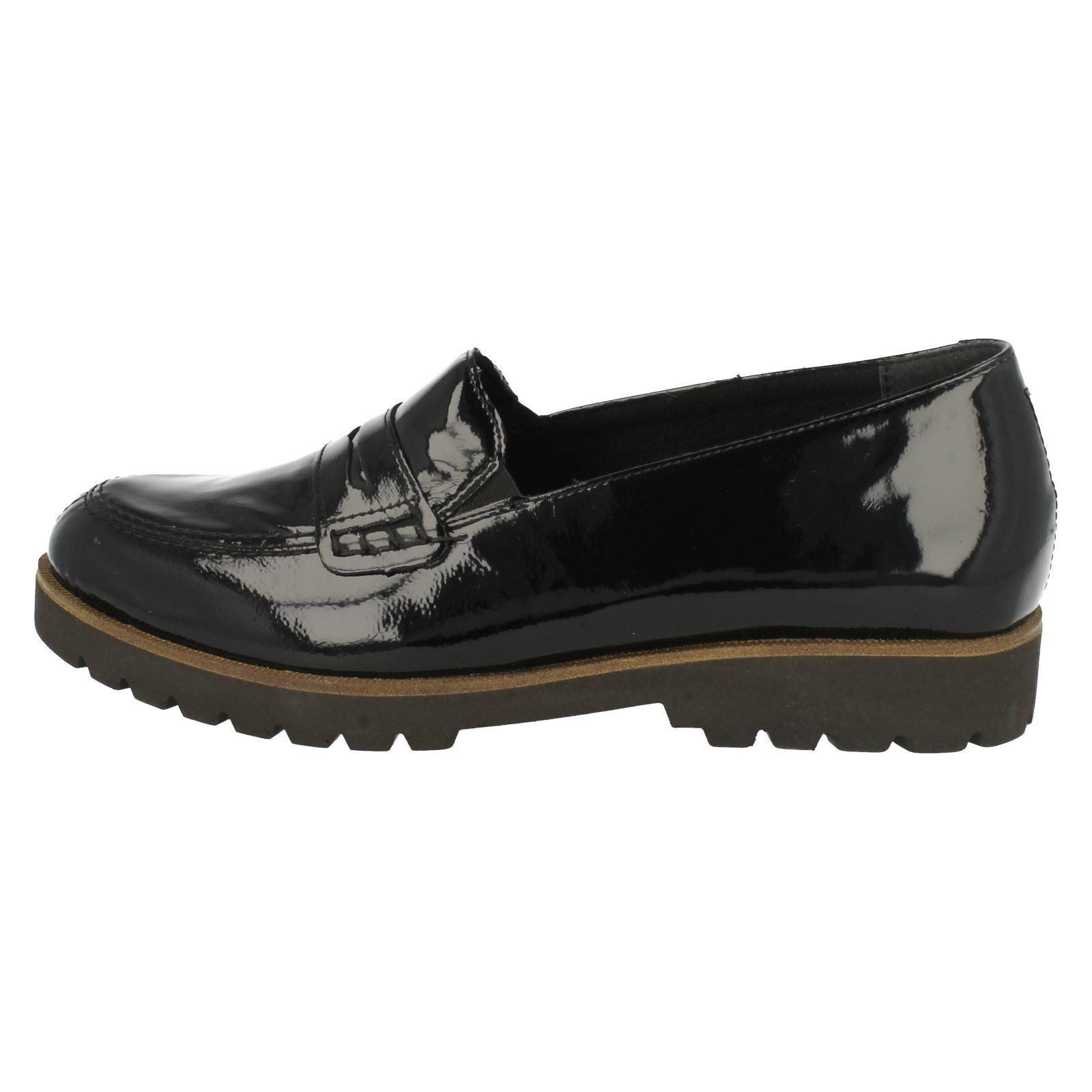 40297e39d68 Ladies-Remonte-Loafer-Style-Shoes-D0101 thumbnail 10