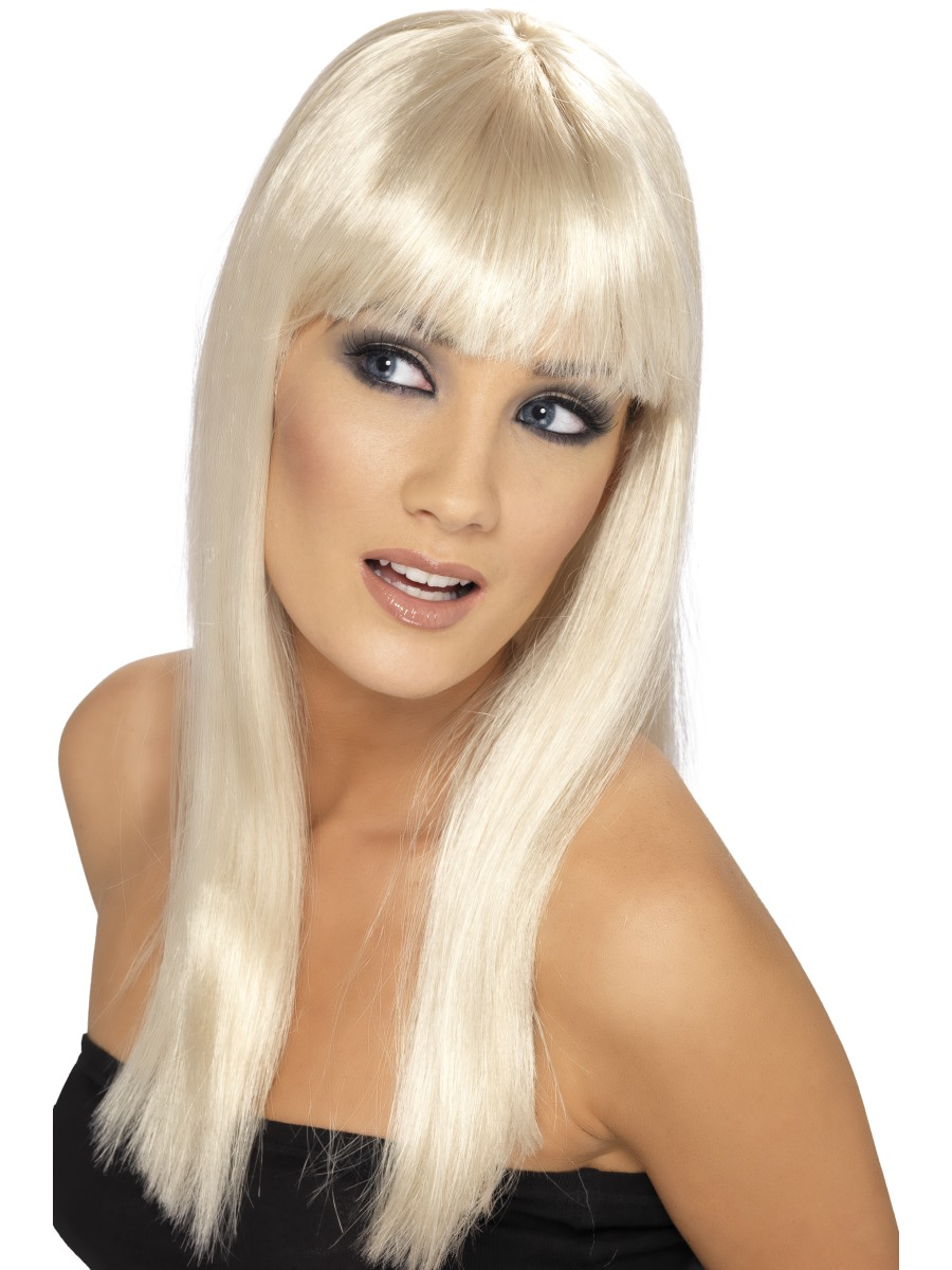 glamourama-Perruque-de-dames-a-longs-cheveux-SMIFFYS-NEUF