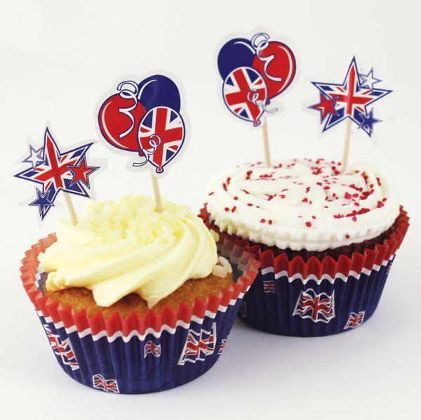 Union-Jack-BODA-REAL-Celebracion-GB-Fiesta-De-Te-Vajilla-Principe-Harry-Meghan