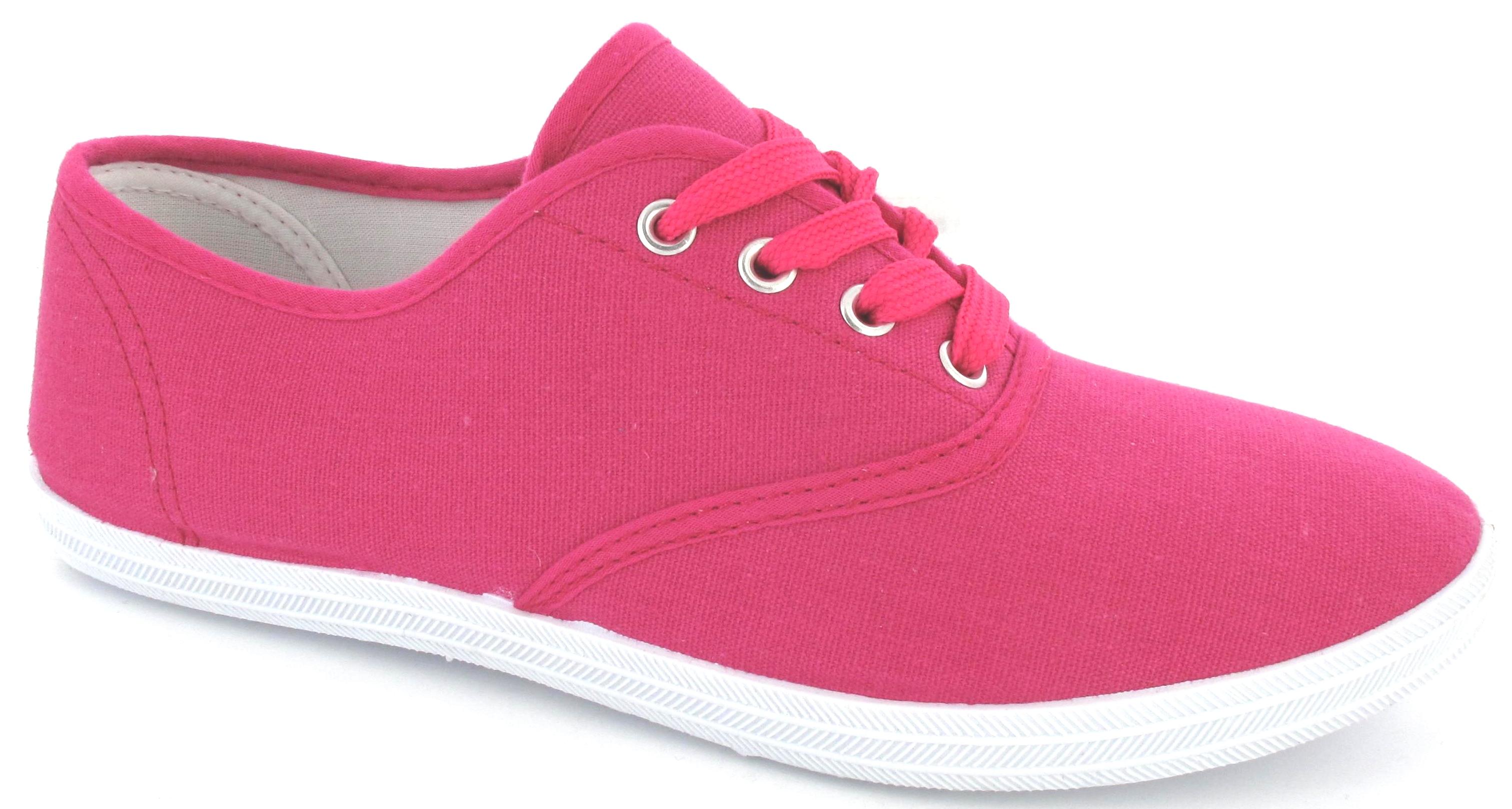 Fushia Pink Shoes Ladies