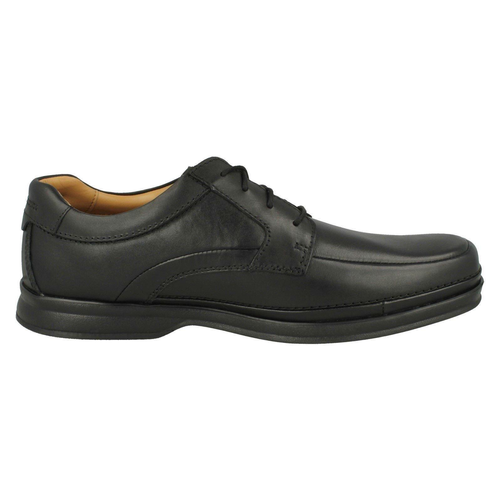 Formal Clarks Con Lado Cordones Zapatos Estilo Scopic Hombre fFqWFUwR6