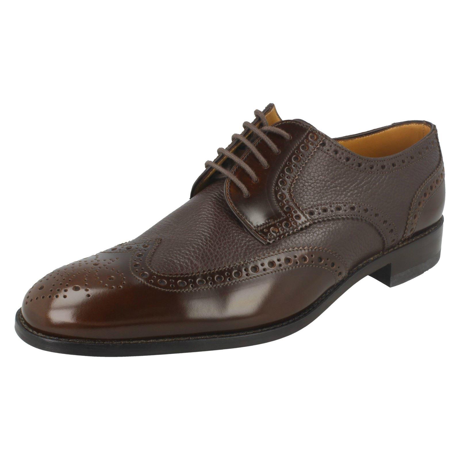 Mens Loake Lace Up Brogue Shoes