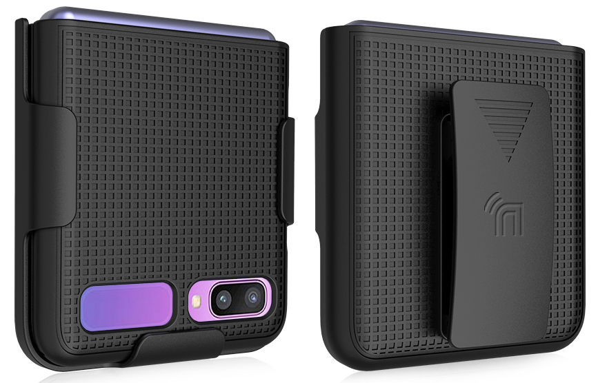 thumbnail 33 - Hard Protector Case Cover + Belt Clip Holster for Samsung Galaxy Z Flip 5G Phone