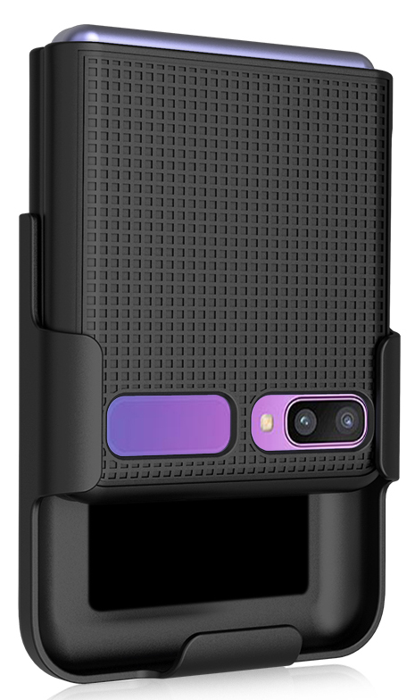 thumbnail 25 - Hard Protector Case Cover + Belt Clip Holster for Samsung Galaxy Z Flip 5G Phone
