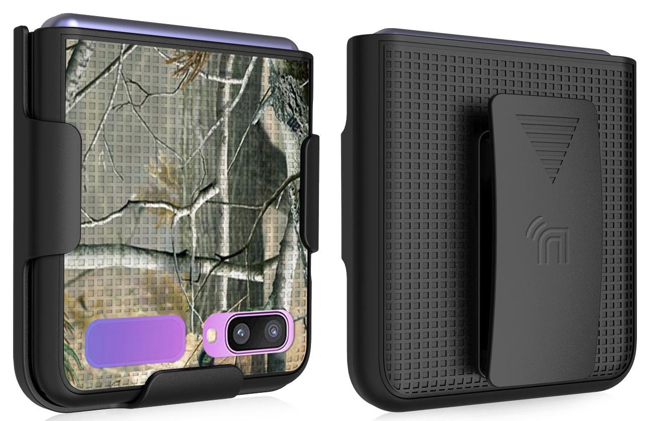 thumbnail 12 - Hard Protector Case Cover + Belt Clip Holster for Samsung Galaxy Z Flip 5G Phone