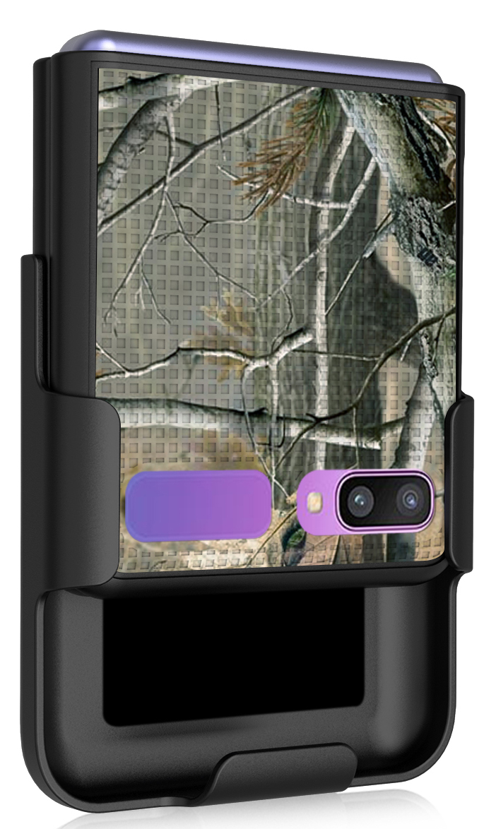 thumbnail 4 - Hard Protector Case Cover + Belt Clip Holster for Samsung Galaxy Z Flip 5G Phone