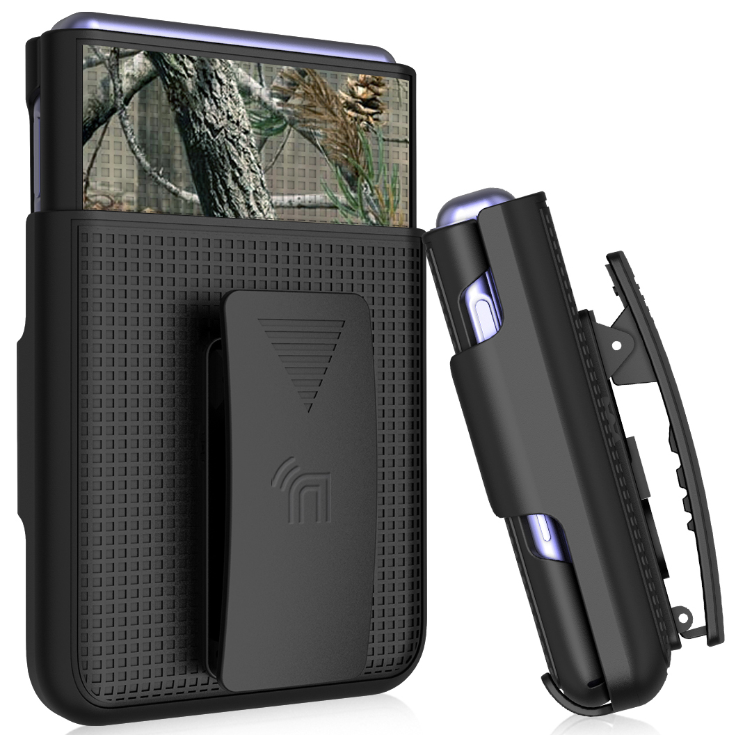 thumbnail 11 - Hard Protector Case Cover + Belt Clip Holster for Samsung Galaxy Z Flip 5G Phone