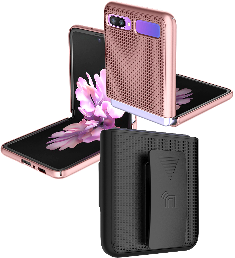 thumbnail 74 - Hard Protector Case Cover + Belt Clip Holster for Samsung Galaxy Z Flip 5G Phone