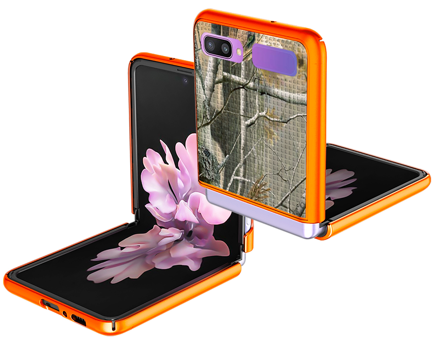 thumbnail 21 - Hard Protector Case Cover + Belt Clip Holster for Samsung Galaxy Z Flip 5G Phone
